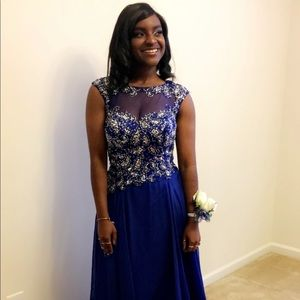 Royal Blue Prom Dress/Gown